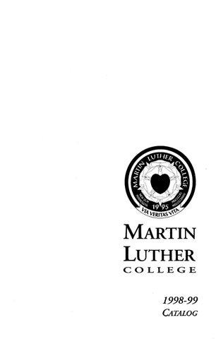 1998 1999 mlc catalog by martin luther college issuu page 1 altavistaventures Images