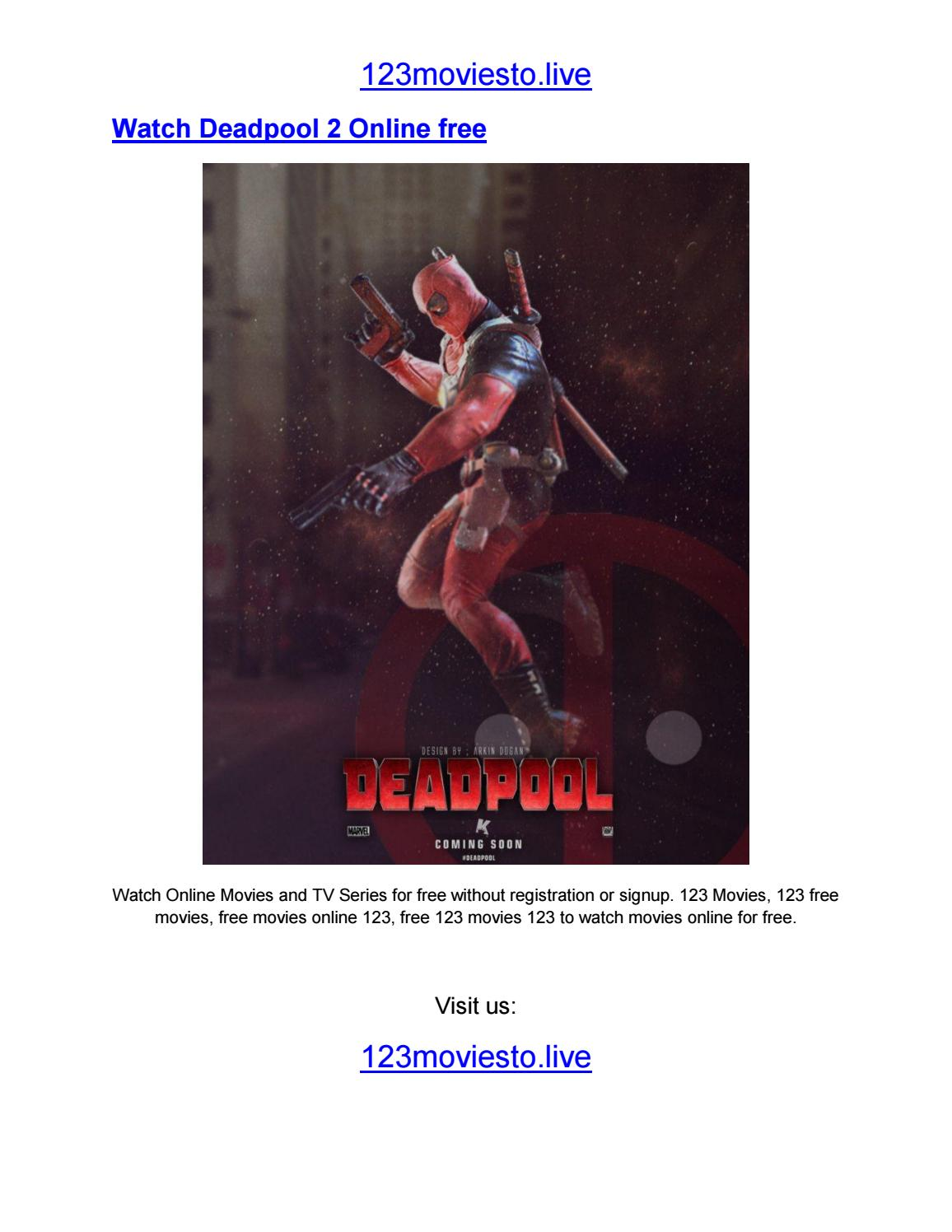 Watch Deadpool 2 Online Free By 123 Movies Issuu