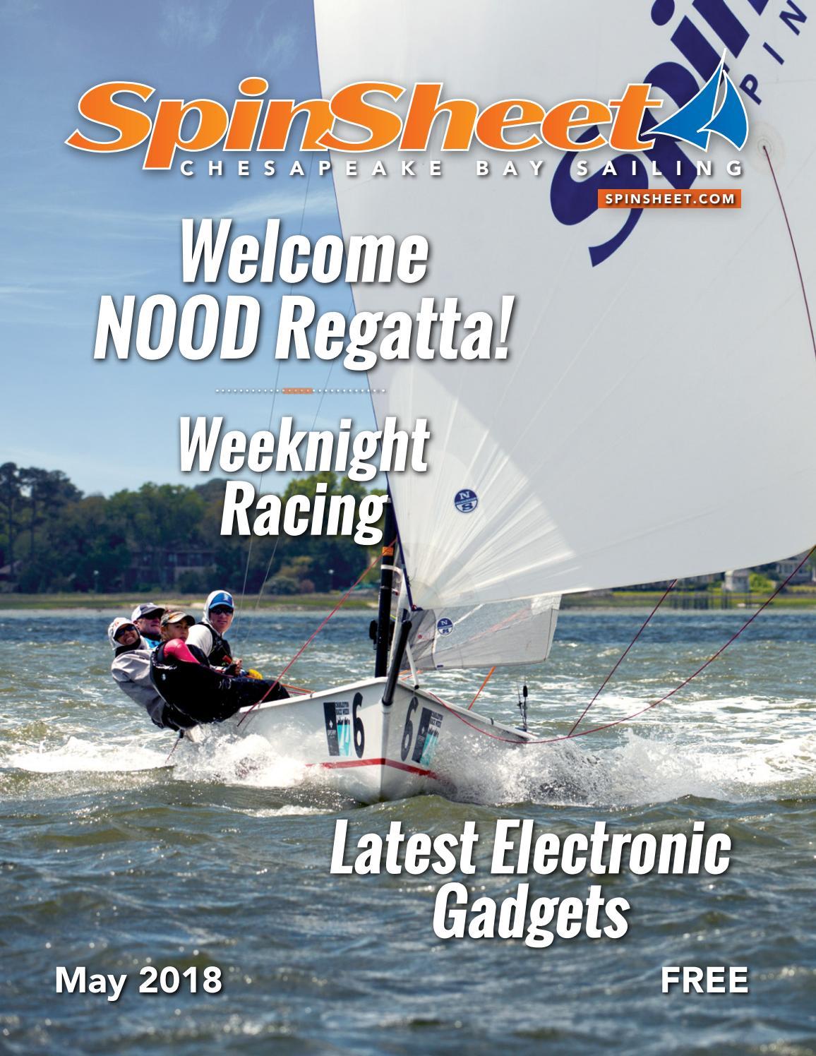 SpinSheet Magazine May 2018 by SpinSheet