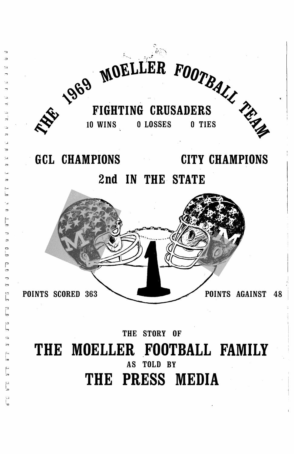 Moeller High School 1969-70 Football News Articles by Archbishop ...