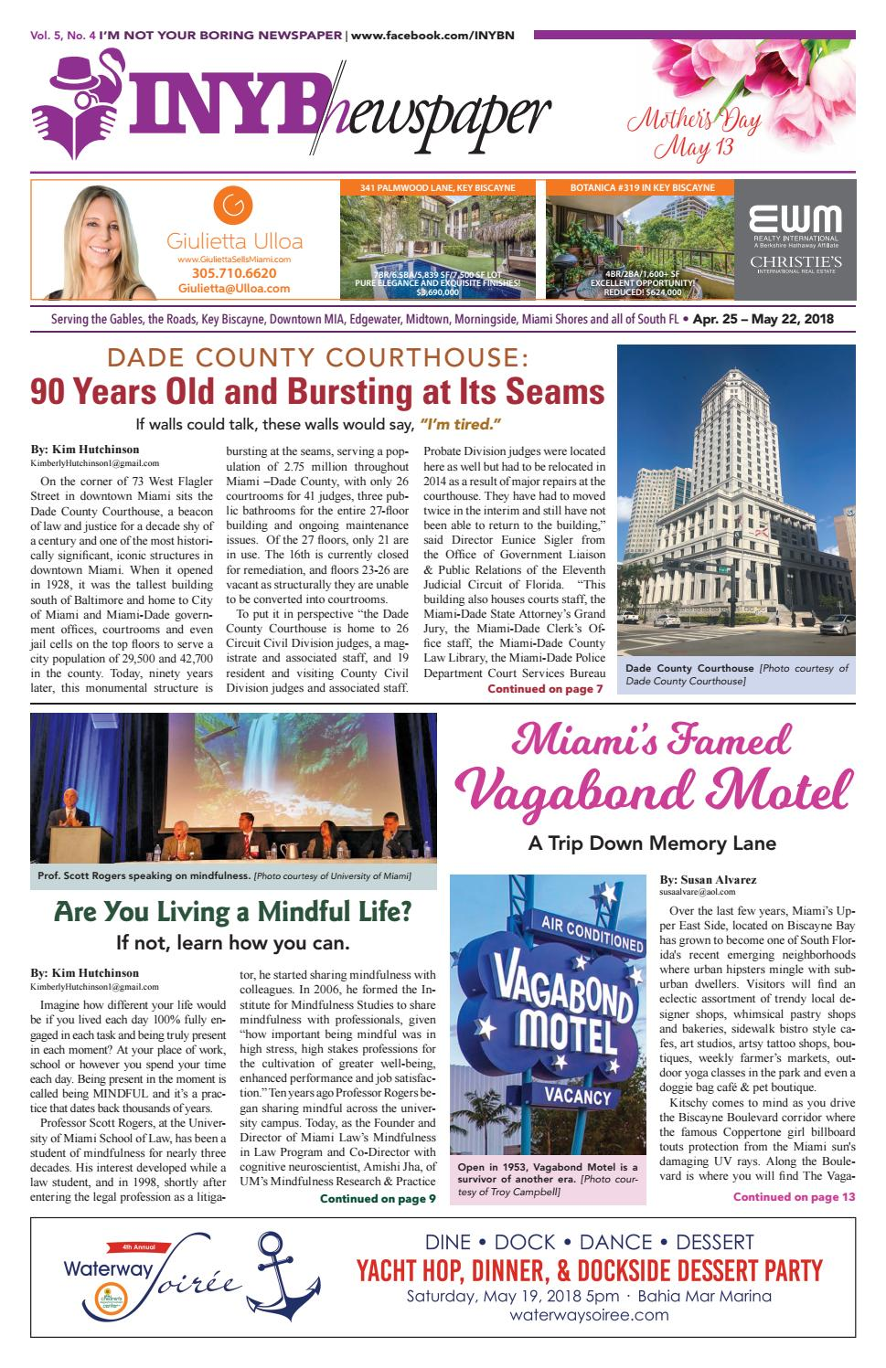 I'm Not Your Boring Newspaper April 25 2018 by INYBN - issuu