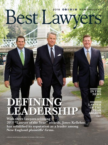 Best Lawyers In New England 2018 By Best Lawyers Issuu