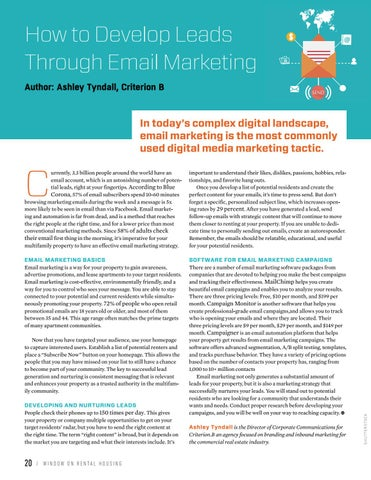 Page 22 of How to Develop Leads Through Email Marketing