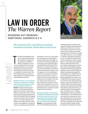 Page 34 of Law In Order: Rounding out Redbook