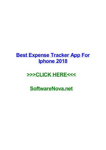best expense tracker app for iphone 2018 by joshuazygto issuu