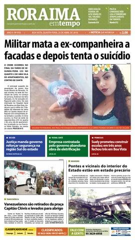 a13dae982fe5 Jornal roraima em tempo – edição 918 by RoraimaEmTempo - issuu