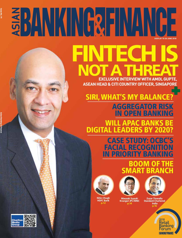 Asian Banking & Finance (April - June 2018) by Charlton Media Group