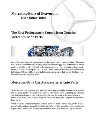 Mercedes Benz Of Beaverton Live âu0026#x20AC;˘ Thrive âu0026#x20AC;˘ Drive