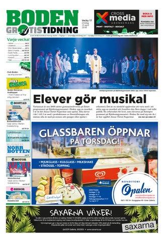 7784f6d6b83 Boden Gratistidning by Svenska Civildatalogerna AB - issuu