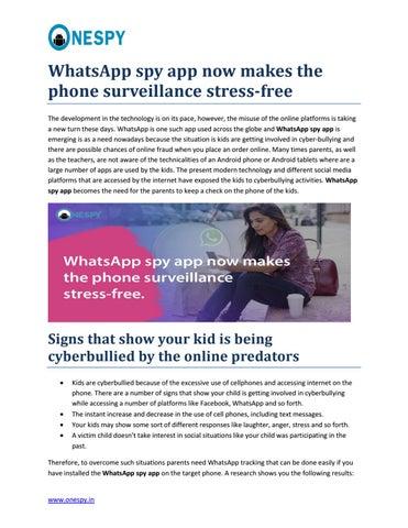 Whatsapp spy app blog by Krishna Yadav - issuu