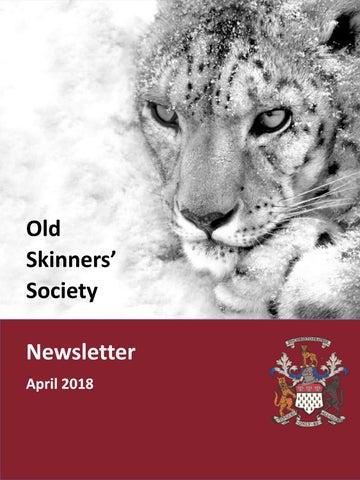 Old Skinners Newsletter April 2018 by Skinners' School - issuu
