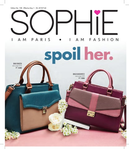 f497bfa770 Sophie Paris Catalog 109 Mothers Day Edition by Sophie Paris PH - issuu