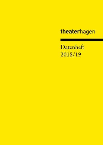 Theater Hagen - Datenheft 2018/19 by theaterhagen - issuu