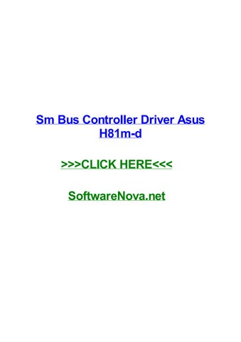 GX520 SM BUS CONTROLLER DRIVER FOR WINDOWS 8