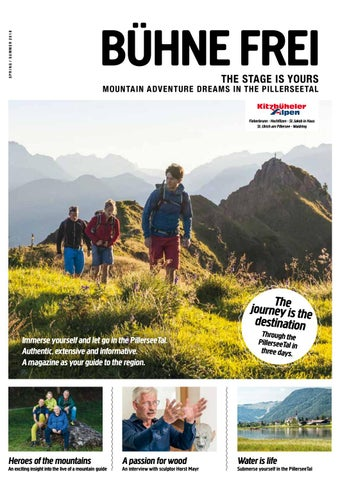 00cfb526fd7a06 Magazin of the region PillerseeTal - summer 2018 by Tourismusverband ...