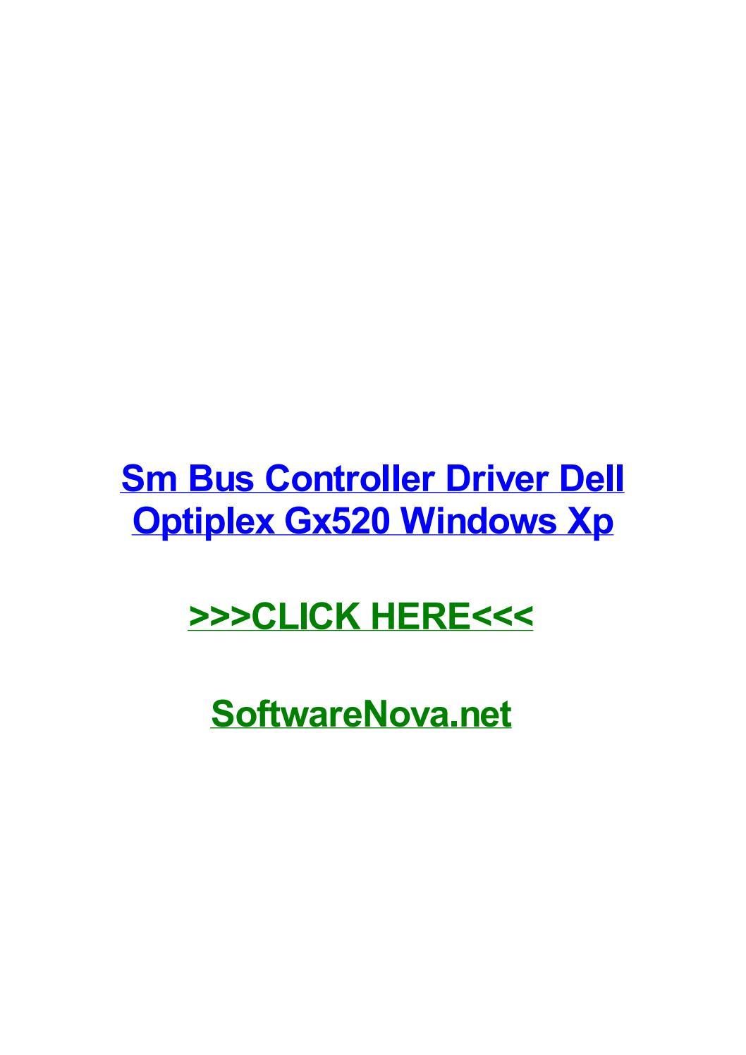 DELL OPTIPLEX GX520 SM BUS CONTROLLER WINDOWS 8 DRIVER