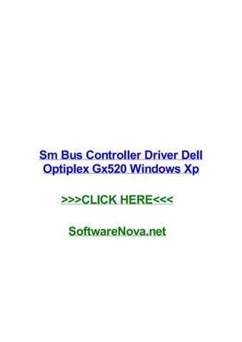 driver de bus sm dell optiplex gx520