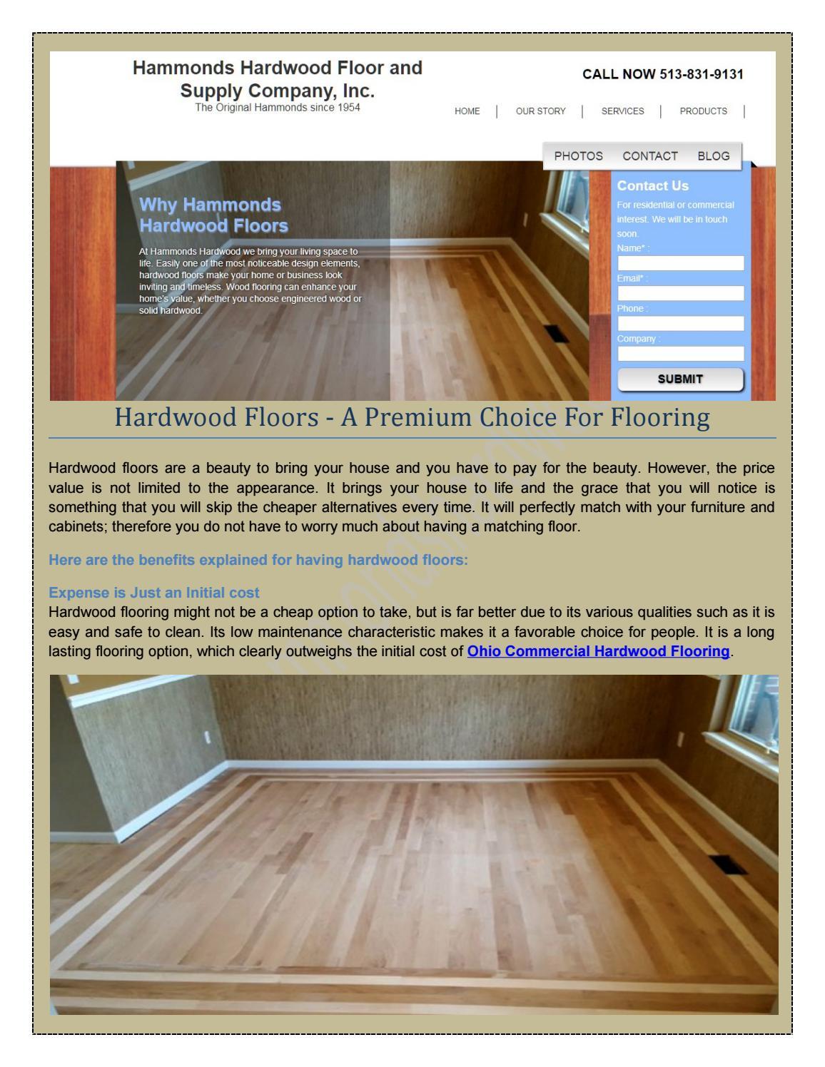 You Can Get The Best Install Hardwood Flooring In Cincinnati