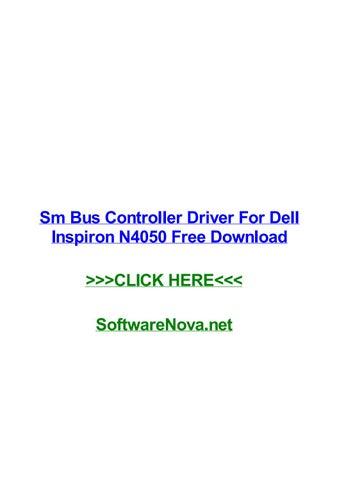 sm bus controller driver dell windows 7 64 bit free download