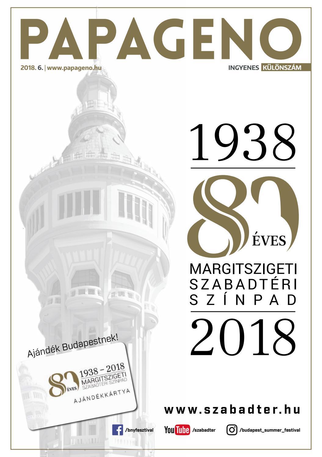 Budapesti Nyári Fesztivál 2018 / Papageno by Papageno - issuu