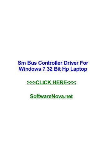 pilote controleur de bus sm windows 7 32bit