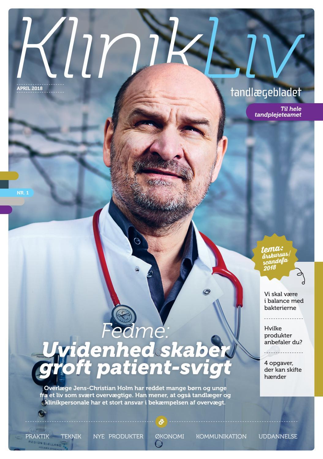 00eb2c642 Klinikliv-2018-01 by Mediegruppen as - issuu