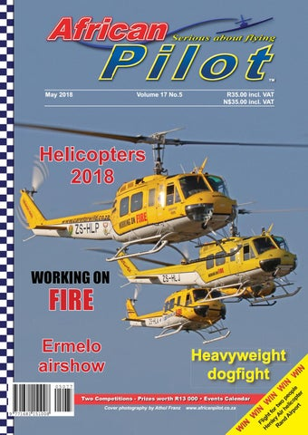 African Pilot Magazine Preview May 2018 by African Pilot Magazine
