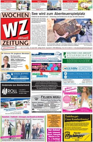 Wochenzeitung Weissenburg Kw 17 18 By Wochenzeitung Sonntagszeitung