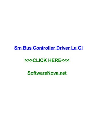 SMS BUS CONTROLLER TREIBER WINDOWS 7
