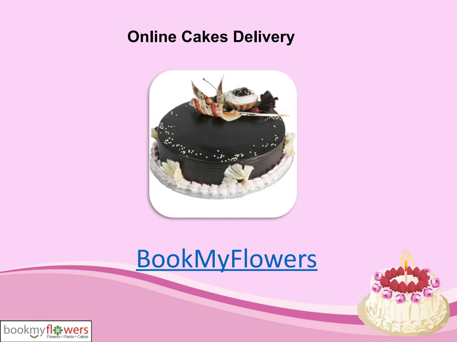 Get The Best Flavours For Your Birthday Cake By BookMyFlowers