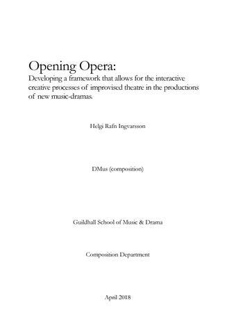 Opening Opera by Helgi R  Ingvarsson - issuu