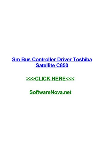 Satellite for controller toshiba c850 driver network