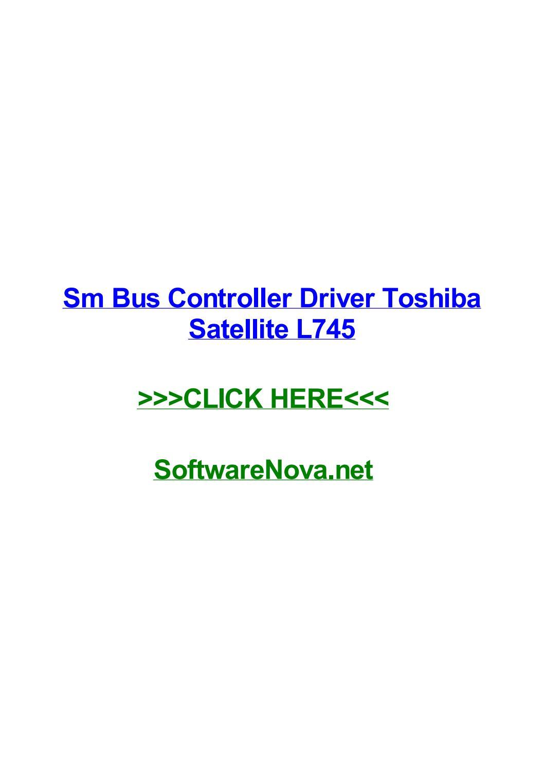 SM POUR TÉLÉCHARGER TOSHIBA DE BUS CONTROLEUR DRIVER