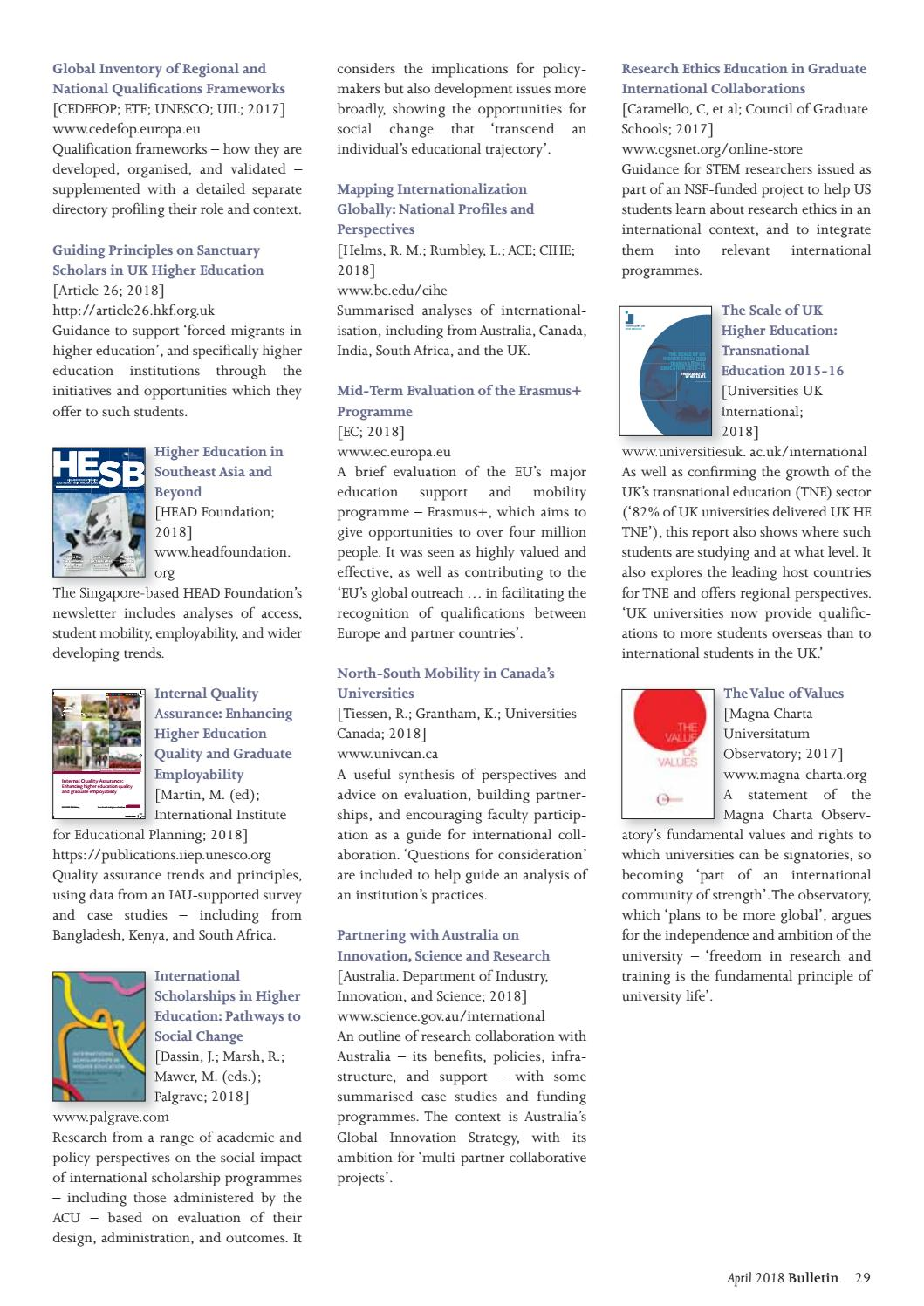 The Bulletin (no 193, April 2018) by The Association of Commonwealth
