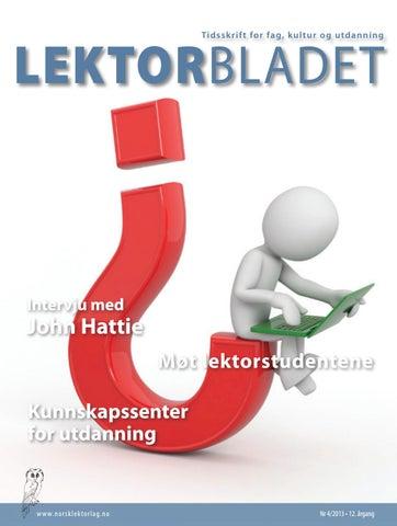 c464d29d9 Lektorbladet #4 2013 by Lektorbladet - issuu