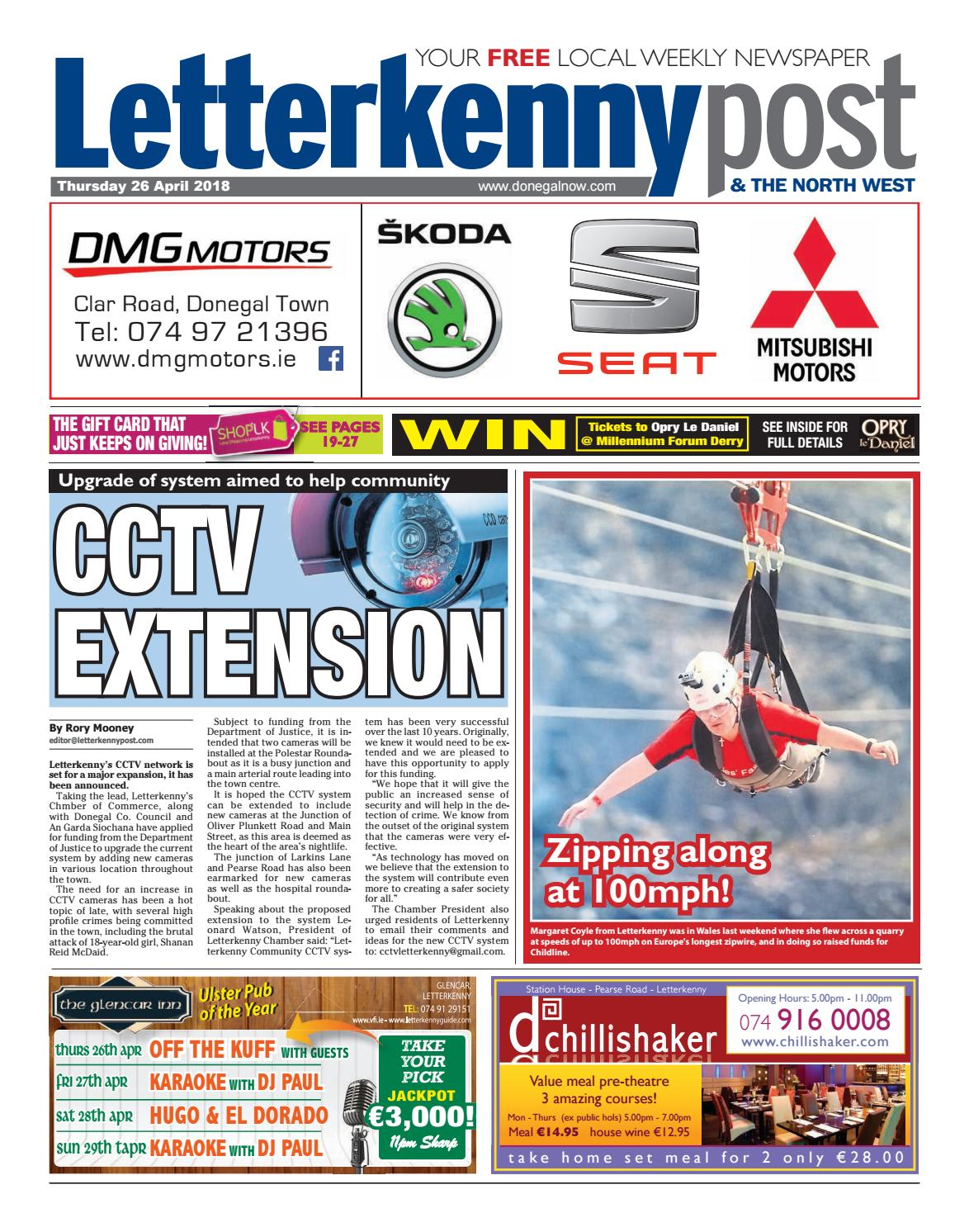 Letterkenny post 26 04 18 by River Media Newspapers - issuu