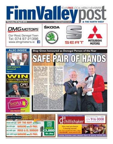 bcd354f9b01 Finn valley post 26 04 18 by River Media Newspapers - issuu