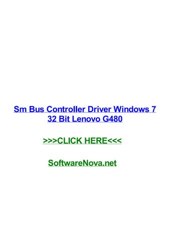 DC5750 SM BUS CONTROLLER WINDOWS 7 64BIT DRIVER
