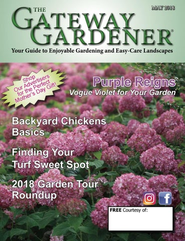 The Gateway Gardener May 2018 By Issuu