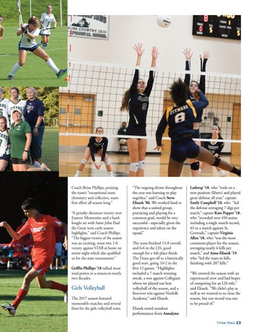 Page 25 of Fall 2017 Athletics
