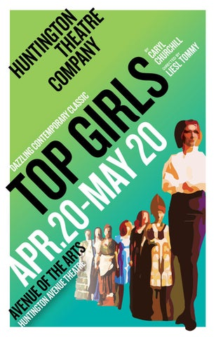 Top Girls Program By Huntington Theatre Company Issuu