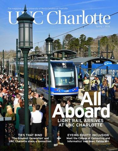 Unc Charlotte Magazine Spring 2018 By Unc Charlotte Issuu