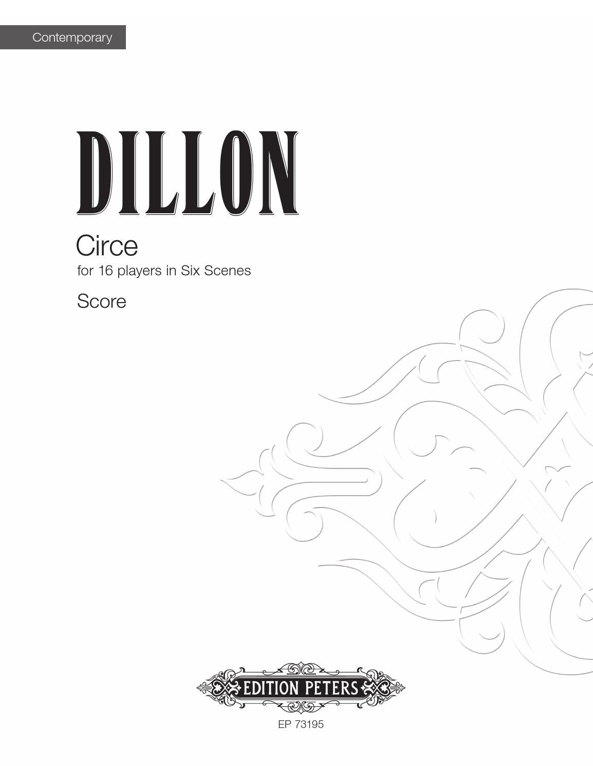 Dillon - Circe by Edition Peters - issuu