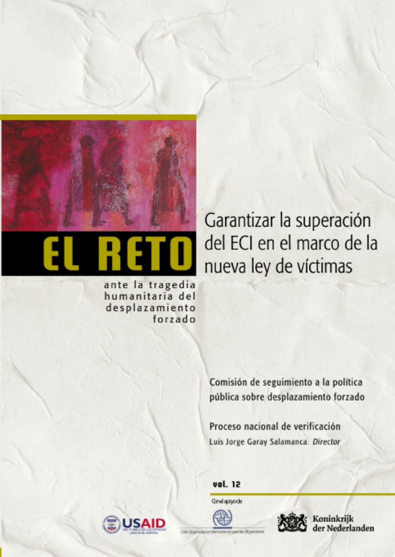 El Reto V.12 GARANTIZAR LA SUPERACIÓN DEL ECI EN EL MARCO DE LA ...