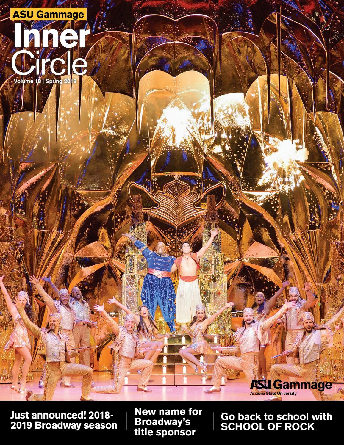 ASU Gammage Inner Circle Magazine Volume 18 by ASU Gammage