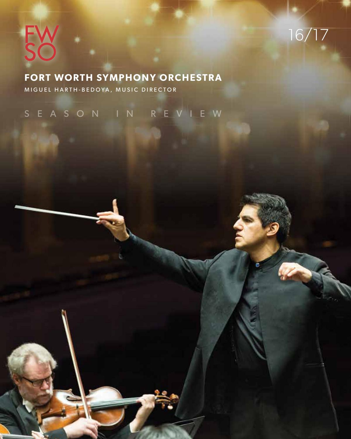 Allene Simmons fort worth symphony orchestra season in review 16/17fort