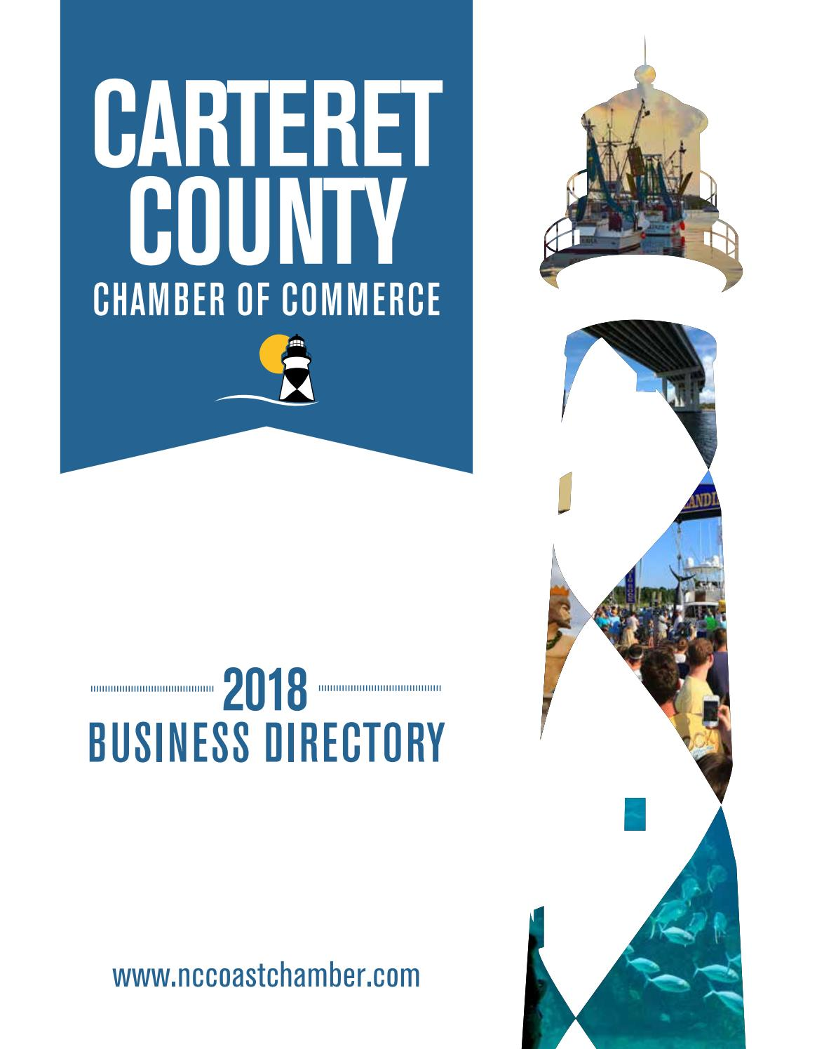 3c7d4759065 2018 Carteret County Chamber of Commerce Business Directory by NCCOAST -  issuu