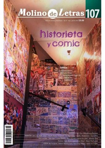 Molino de letras 107: Historieta y comic by Molino Letras - issuu