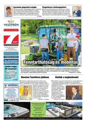 Veszprémi 7 Nap - 2018. 04. 26. by Maraton Lapcsoport Kft. - issuu 343ddfe128