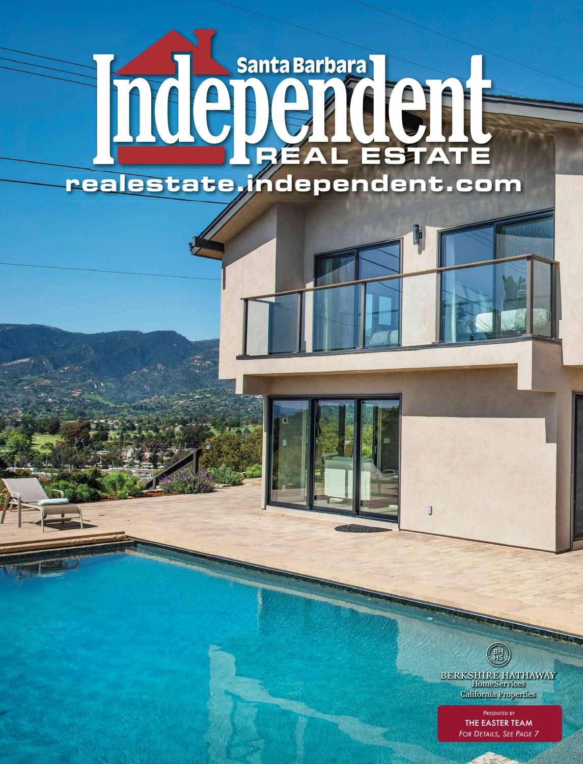 Santa Barbara Independent Real Estate, 04/26/18 by SB Independent ...